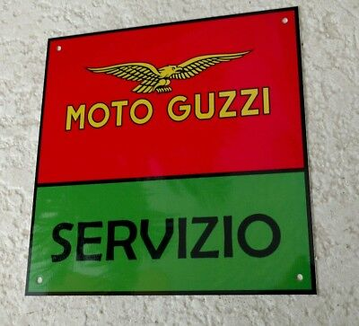 Moto guzzi motorcycles motorcycle sign