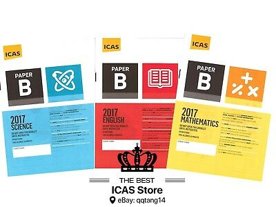 ICAS Past Papers - Year 4 - Cheapest Price $1 / paper - including 2018 papers
