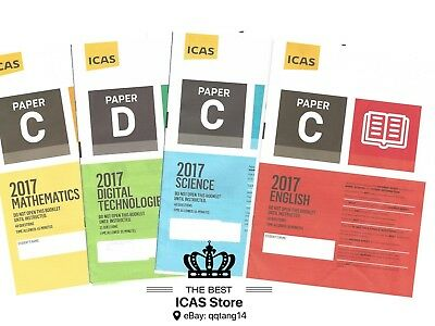 ICAS Past Papers - Year 5 - Cheapest Price $1 / paper - including 2018 papers