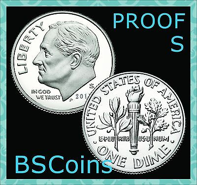 2018 S Roosevelt PROOF 90% SILVER Dime Gem Deep Cameo - In Stock - Ship TODAY!!