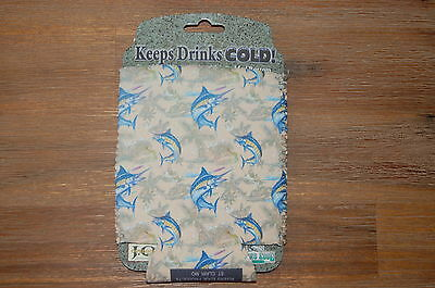 Rivers Edge Drink Holder Striped Marlin Design NEW!