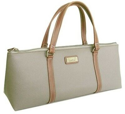 New D.line Sachi Insulated Wine Purse Taupe Leak-Proof Lining Bpa Free Storage