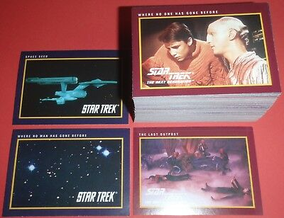 Star Trek : 25th Anniversary Base Set (of 160) - Series One (1) : 1991 IMPEL