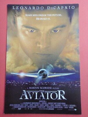 Postcard : The AVIATOR : Leonardo DiCaprio