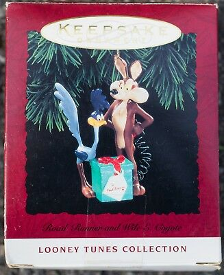 Looney Tunes Road Runner Wile E Coyote Hallmark Keepsake NOS Free USA Shipping