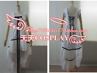 Chobits Chi White Party Gown Cosplay Costume K002