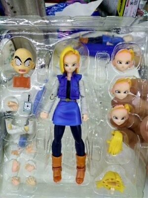 S.H.Figuarts Dragon Ball Z Android No.18 PVC Action Figure Toy Gift New No Box