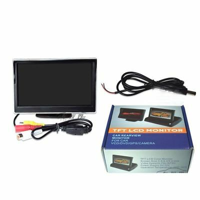 "Car Rear View Kit 5.0"" TFT LCD Monitor FOR Car Reversing Night Vision Camera UK"