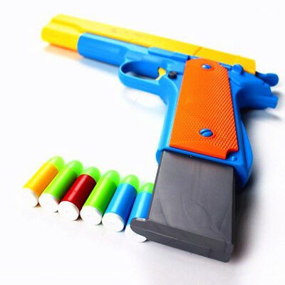 Hot Toy Gun Toy Pistol Classic m1911 Kids Colorful Gun With Soft Bullets