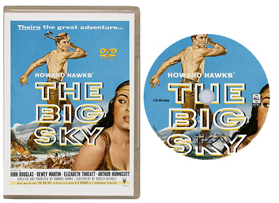 The Big Sky - (Kirk Douglas) Western - All Region Dvd