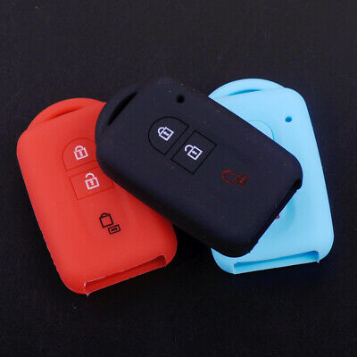 3 Button Silicone Car Remote Key Cover Case Fob For Nissan Qashqai Micra Note