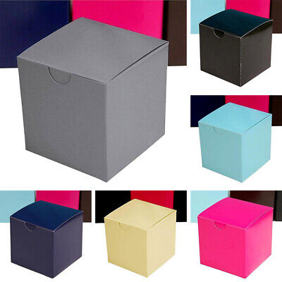 """300 pcs FAVOR BOXES 3""""x3"""" Wedding Party Home Decorations GIFT Supply WHOLESALE"""