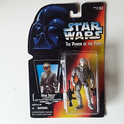 Star Wars, The Power Of The Force, Han Solo in Hoth Gear, Kenner 1995