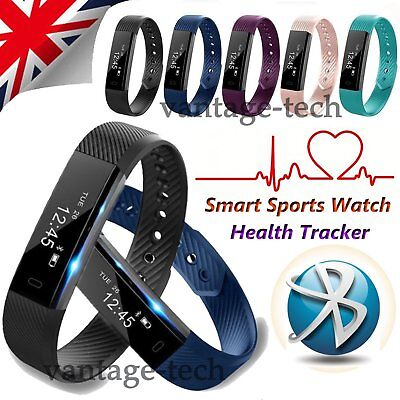 Smart Health Sports Wrist Watch Band Fitness Activity Tracker For Android Iphone