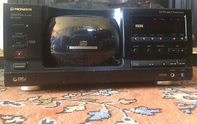 Pioneer PD-F957, 101 CD Disc Player, Disc Changer