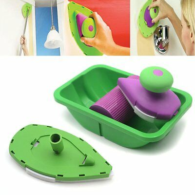 New Point And Paint EASY PAINTING DIY Decorating Painter Tray Paint Pads Roller