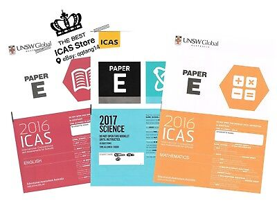 ICAS Past Papers - Year 7 - Cheapest Price $1 / paper - including 2018 papers