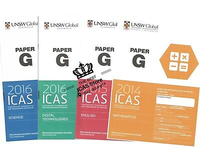 ICAS Past Papers - Year 9 - Cheapest Price $1 / paper