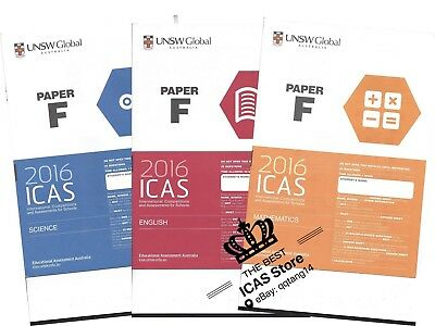 ICAS Past Papers - Year 8 - Cheapest Price $1 / paper - including 2018 papers