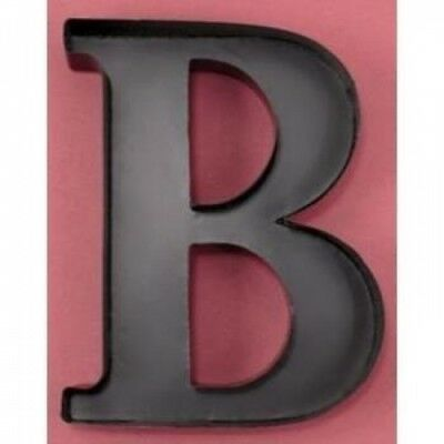 "Personalised Letter ""B"" Metal Wall Wine Cork Holder. LDI. Shipping is Free"