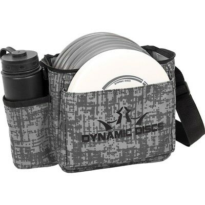 (Genome Gray) - Dynamic Discs Cadet Disc Golf Bag - Fits Up To 10 Discs and 2