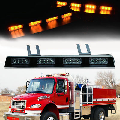 17IN 24LED Hazard Emergency Warning Tow Traffic Advisor Flash Strobe Light Bar