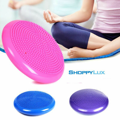 Inflatable Massage Fitness Yoga Ball Durable Wobble Stability Gym Balance Balls