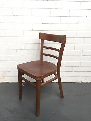 Used Chairs Cafe/Restaurant/Pub/Dining Timber Chairs Chocolate Colour GC