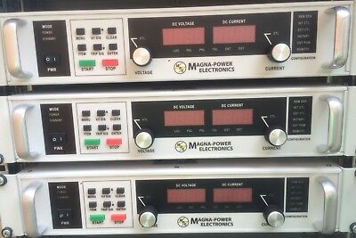 Magna Power Programmable DC power supply XR series 3 lll 3ph ...