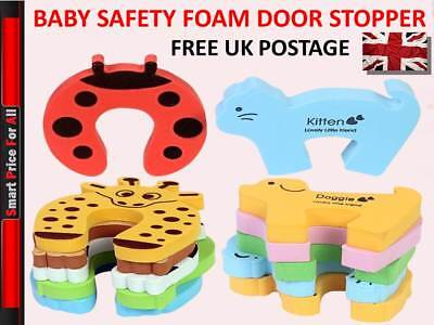 Kids/Baby/Child Safety Home Door Jammer Safe Stopper Guard Protect Fingers