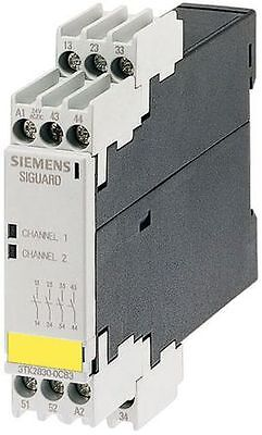 New In The Box. Siemens Sirius 3TK28221CB30. Safety Relay, Dual Channel. 24V