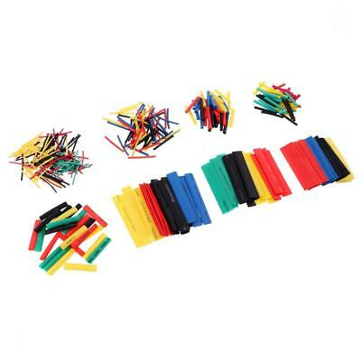 328pcs 2:1 Heat Shrink Tube Tubing Sleeving Wrap Wire Assorted Kit