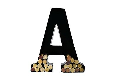(A) - Wine Cork Holder - Metal Monogram Letter (A). Will's. Best Price