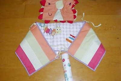 Mamas & Papas Jamboree Nappy Stacker Bumper Border remnant