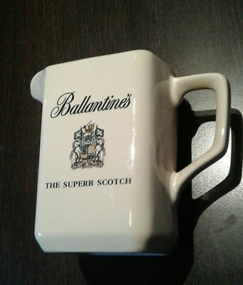 Ballantines,The Superb Scotch Whiskey,Whisky,Keramik,Karaffe,Eiswasserkrug