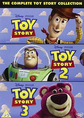 The Complete Toy Story Collection 1 2 & 3-Box Set Brand New DVD - 8717418288440