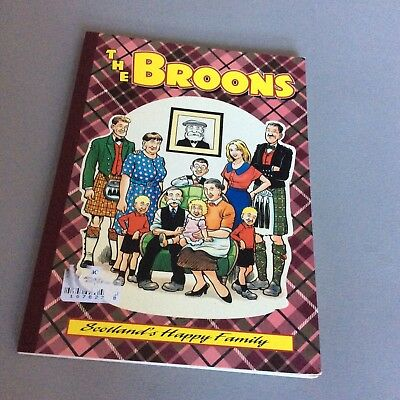 The Broons Glasgow Comic Book vgc 1995