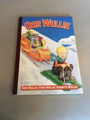 Or Wullie Glasgow Comic Book vgc 2006