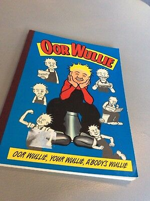 Or Wullie Glasgow Comic Book vgc 1994