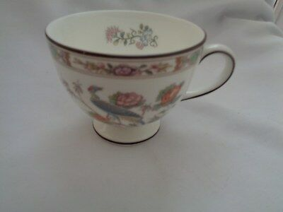 Wedgwood Bone China Made In England Kutani Crane Footed Cup  R4464