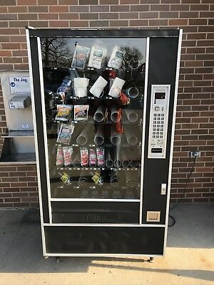 Snack Shop  7600 food Candy Vending Machine.         Used working condition