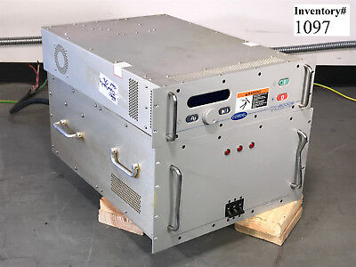Comdel CX-5000S RF Generator CPS-5000 Power Supply 13.56 MHZ (Tested Working)