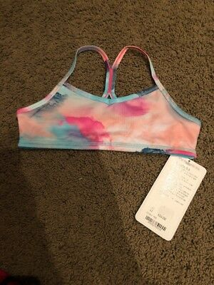 NWT Ivivva By Lululemon Drill Sports Bra Size 12 TKIE