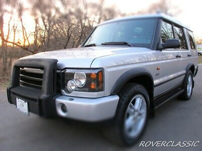 2003 Land Rover Discovery SE7 2003 LAND ROVER DISCOVERY II SE7 ... 81,107 Original Miles 7 PASSENGER