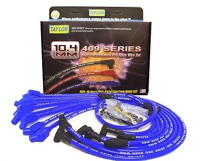 Taylor Cable 79658 Custom Race Fit 409 Spark Plug Wire Set