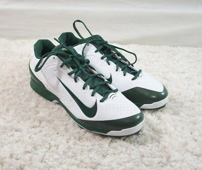 the best attitude 3404e 2ef50 New NIKE AIR Men s Huarache Pro Low MCS Baseball Cleats Green White Size  11.5