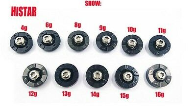 (9g) - HISTAR Golf Weights With Screw For Ping G30 Driver Head Clubs 4g 6g 8g