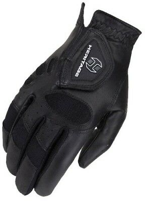 (7, Black) - Heritage Tackified Pro-Air Show Glove. Heritage Products