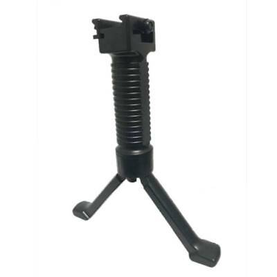 Tactical Vertical Bipod Fore Hand Grip Picatinny Rail Rifle Weaver Foregrip 20mm