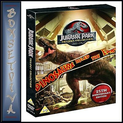 Jurassic Park Trilogy Collection  25Th Anniversary Edition** Brand New Dvd